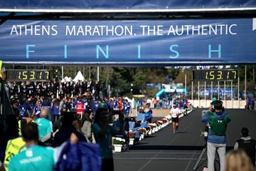 Athens Marathon. The Authentic (Getty Images)