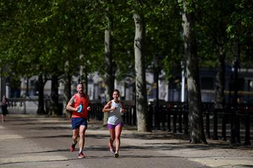 Runners in action (Getty Images)