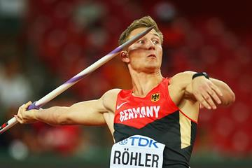 German javelin thrower Thomas Rohler (Getty Images)