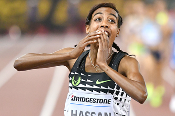 Sifan Hassan wins the 1500m (AFP / Getty Images)