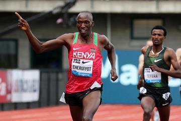 Eugene mile winner Timothy Cheruiyot (Victah Sailer)