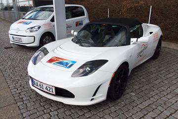 The official cars for the 2014 IAAF/AL-Bank World Half Marathon Championships (Jakob Larsen)