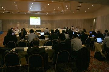 The IAAF Council is briefed on preparations for the 2011 World Youth Championships (Bob Ramsak)