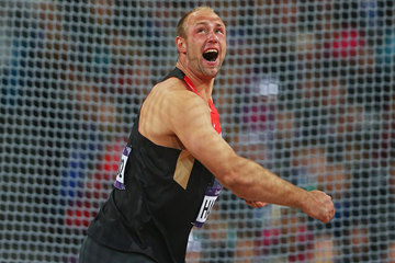 Robert Harting in the discus at the London 2012 Olympic Games (Getty Images)