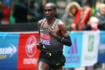 Eliud Kipchoge in action at the London Marathon (Getty Images)
