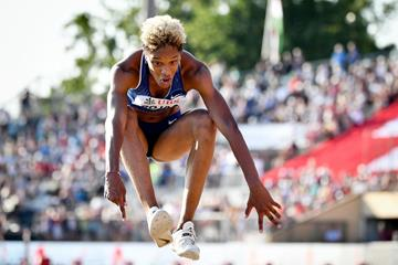 Venezuelan triple jumper Yulimar Rojas (AFP / Getty Images)