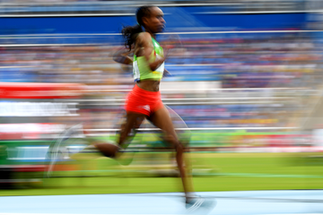 Almaz Ayana in the 10,000m at the Rio 2016 Olympic Games (AFP / Getty Images)