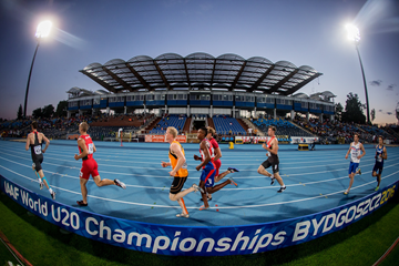 The decathlon 1500m at the IAAF World U20 Championships (Getty Images)