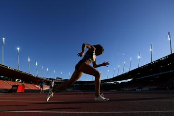 Mujinga Kambundji at the Inspiration Games (Getty Images)