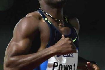 Asafa Powell at 2009 Sydney Track Classic (Getty Images)