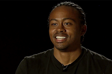 Aries Merritt on Legends of Athletics, signature edition (IAAF)