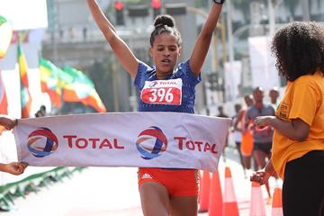 Ethiopian distance runner Yehualaw Yalemzerf (Giancarlo Colombo)