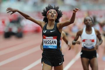 Sifan Hassan takes the London mile (Mark Shearman)