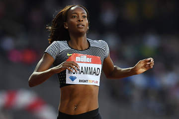 USA's Dalilah Muhammad in action (AFP / Getty Images)
