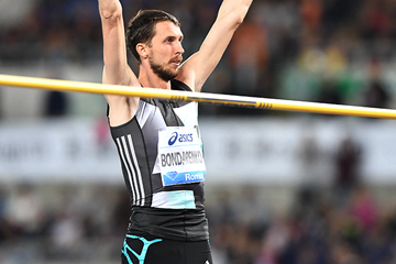 Bogdan Bondarenko at the 2016 IAAF Diamond League meeting in Rome (Gladys Chai)