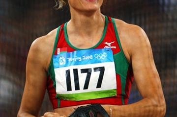 Aksana Miankova set an Olympic record of 76.34m to win gold in the hammer (Getty Images)