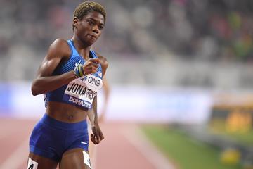 US 400m runner Wadeline Jonathas (Getty Images)