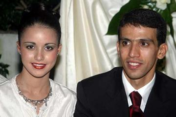 Mr and Mrs Hicham El Guerrouj (Agence Parade -  Morocco)