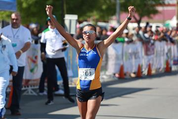Erica de Sena in Ciudad Juarez (Institute Chihuahuense del Deporte y Cultura Fisica)