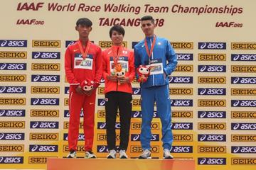 at the IAAF World Race Walking Team Championships (Getty Images)