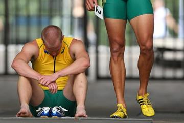 Australia 4x100m Relay at the IAAF World Athletics Championships Moscow 2013 (Getty Images)