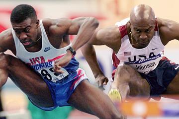 US sprint hurdler Allen Johnson (AFP / Getty Images)