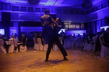 Tango demonstration - CONSUDATLE Centennial Dinner, Gran Salon, Panamerican Hotel, Buenos Aires (Getty Images for IAAF)