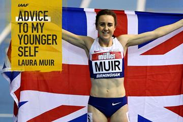 British middle distance runner Laura Muir (Getty Images)