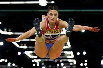 Ivana Spanovic at the IAAF World Indoor Championships Portland 2016 (Getty Images)