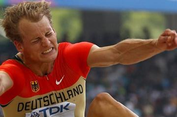 Christian Reif of Germany advances to the men's Long Jump final (Getty Images)