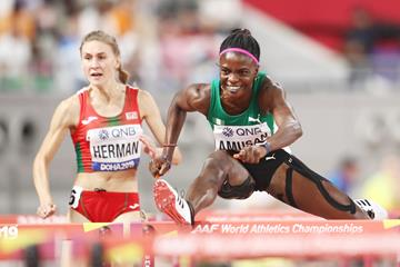 Nigerian sprint hurdler Tobi Amusan (Getty Images)