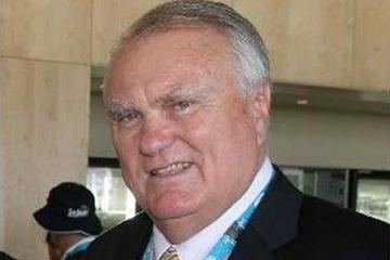 Hungarian Olympic Champion Gyula Zsivotzky (c)