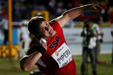 Adrian Piperi at the IAAF World Youth Championships, Cali 2015 (Getty Images)