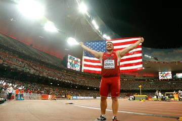 Joe Kovacs at the IAAF World Championships, Beijing 2015 (Getty Images)