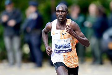 Geoffrey Kamworor on his way to winning the New York City Marathon (Getty Images)