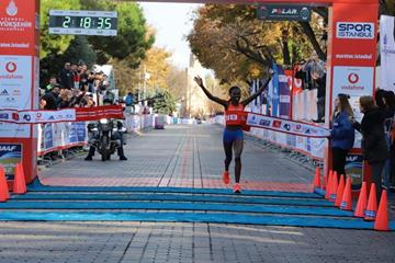 Dominating performance by Ruth Chepngetich in Istanbul (Organisers)