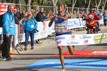 Jemal Yimer wins the 2017 Marseille Cassis 20km (Vincent Prieur/organisers)