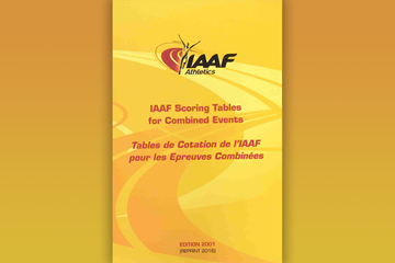 IAAF Scoring Tables for Combined Events (IAAF)