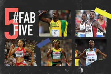 Fab five: multiple medallists at the World Championships (Getty Images)