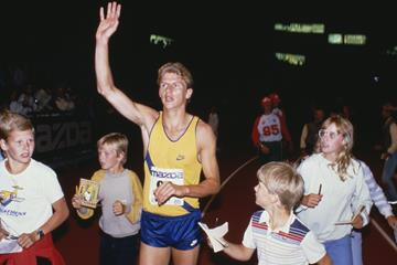 Steve Cram in the Dream Mile (Getty Images)