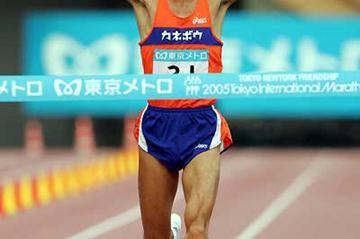 Toshinari Takaoka wins in Tokyo in 2:07:41 (Kazuaki Matsunaga/Agence SHOT)