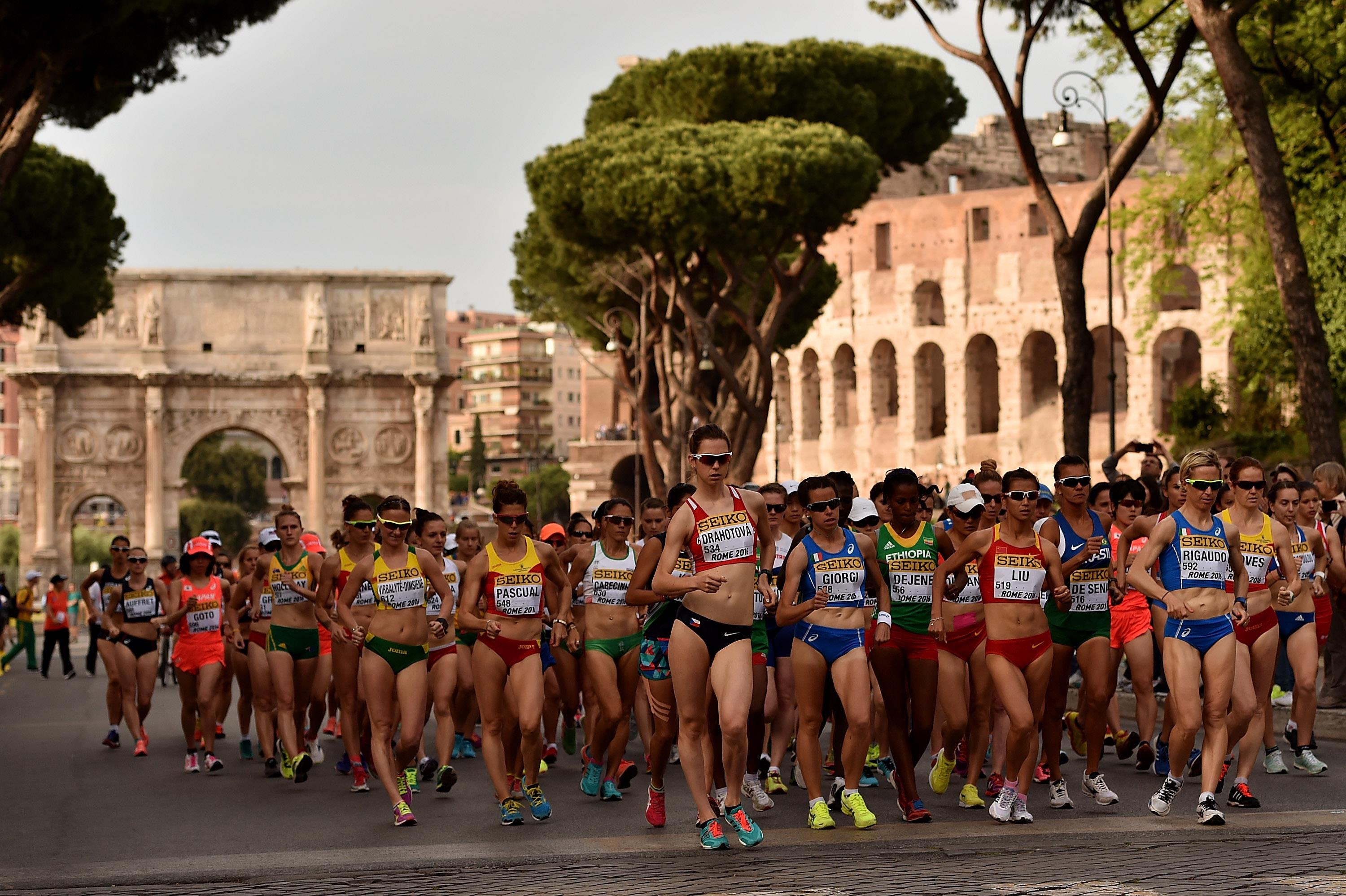 Hosting the World Athletics Race Walking Championships ()