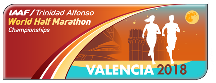 IAAF World Half Marathon Championships Valencia 2018 logo (IAAF)