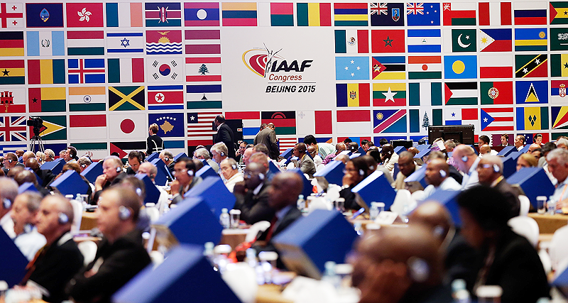 IAAF Congress, Beijing, August 2015 (IAAF)