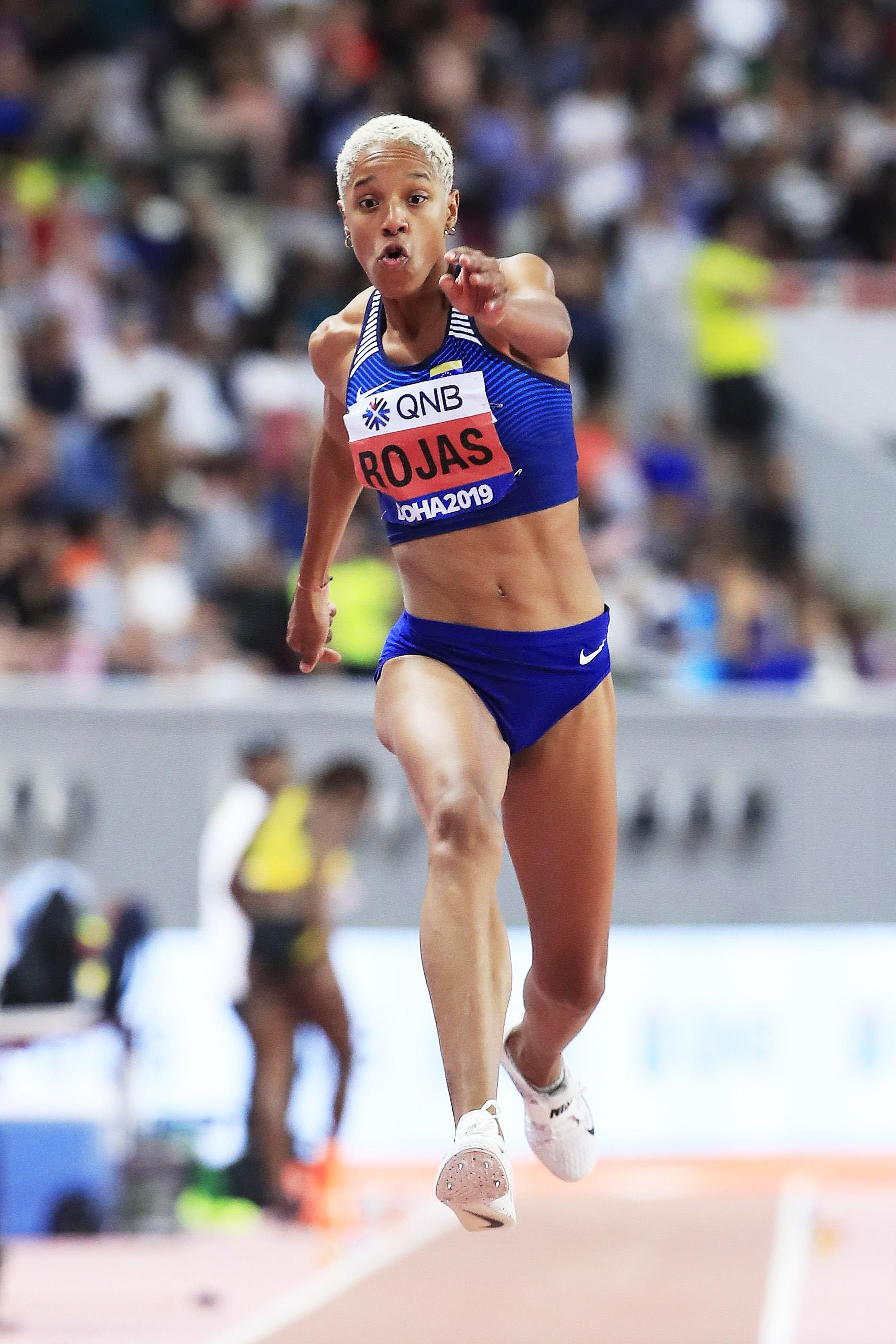 Yulimar Rojas at the IAAF World Athletics Championships Doha 2019 (Getty Images)