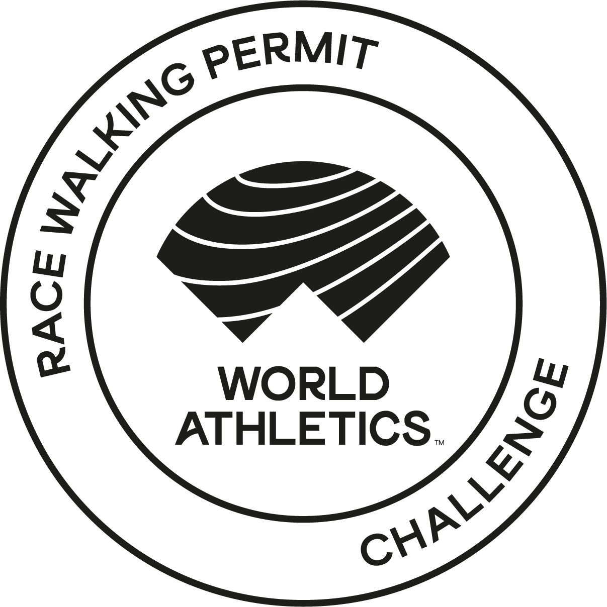 Race Walking Logo ()