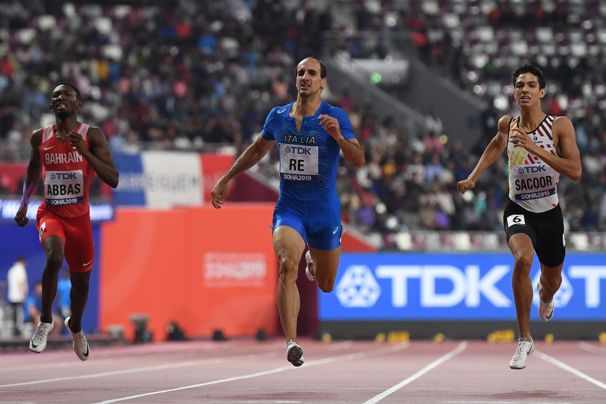 Men's 400m semifinal at the World Athletics Championships Doha 2019 (AFP / Getty Images)
