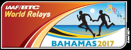 IAAF/BTC World Relays Bahamas 2017 logo (IAAF)