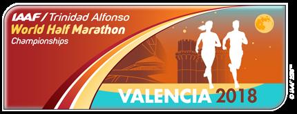 IAAF World Half Marathon Championships Valencia 2018 logo (IAAF)