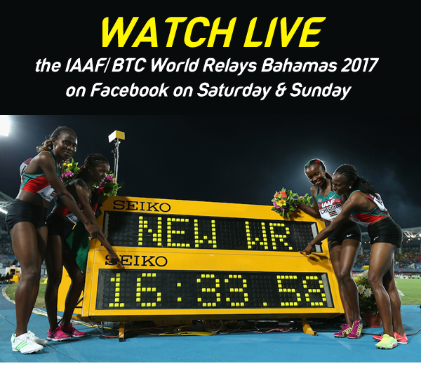 World Relays live stream